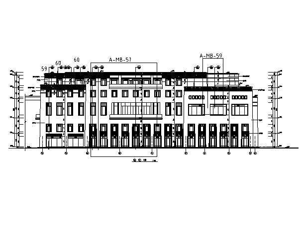 [西藏]高层假日酒店全套施工图(水暖电、结构及室内图纸)_2