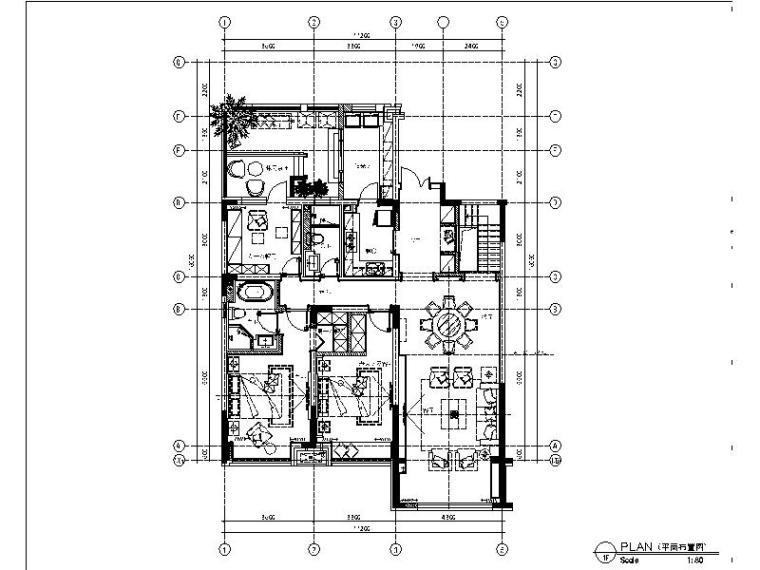 [沈阳]新韵至雅高端独栋别墅装修设计施工图(含实景图)