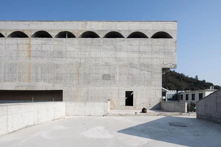 台州旧仓库改造的当代美术馆-4