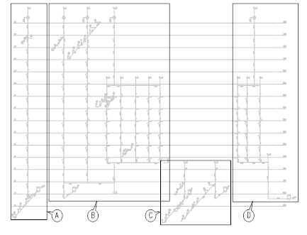 生活污水系统施工图识图 ,实际实例就是这么形象