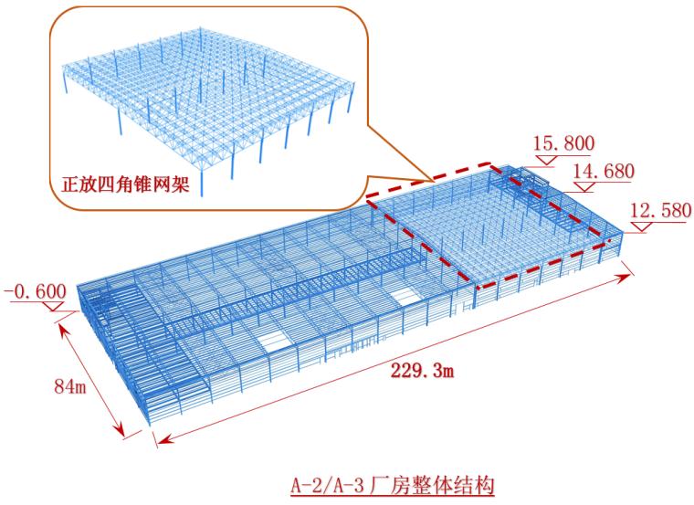 [湖北]单层桁架+网架+框架复合结构厂房工程A-2/3施工组织设计