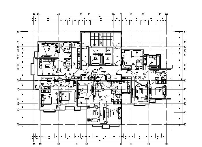 安徽住宅楼、商业楼、地下车库电气全套施工图纸