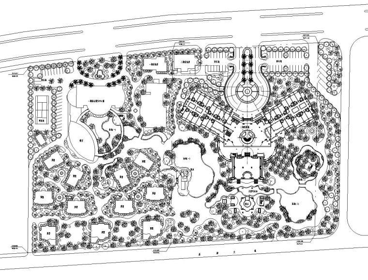 [海南]三亚市海航度假中心景观施工图(夏威夷dgh设计公司)