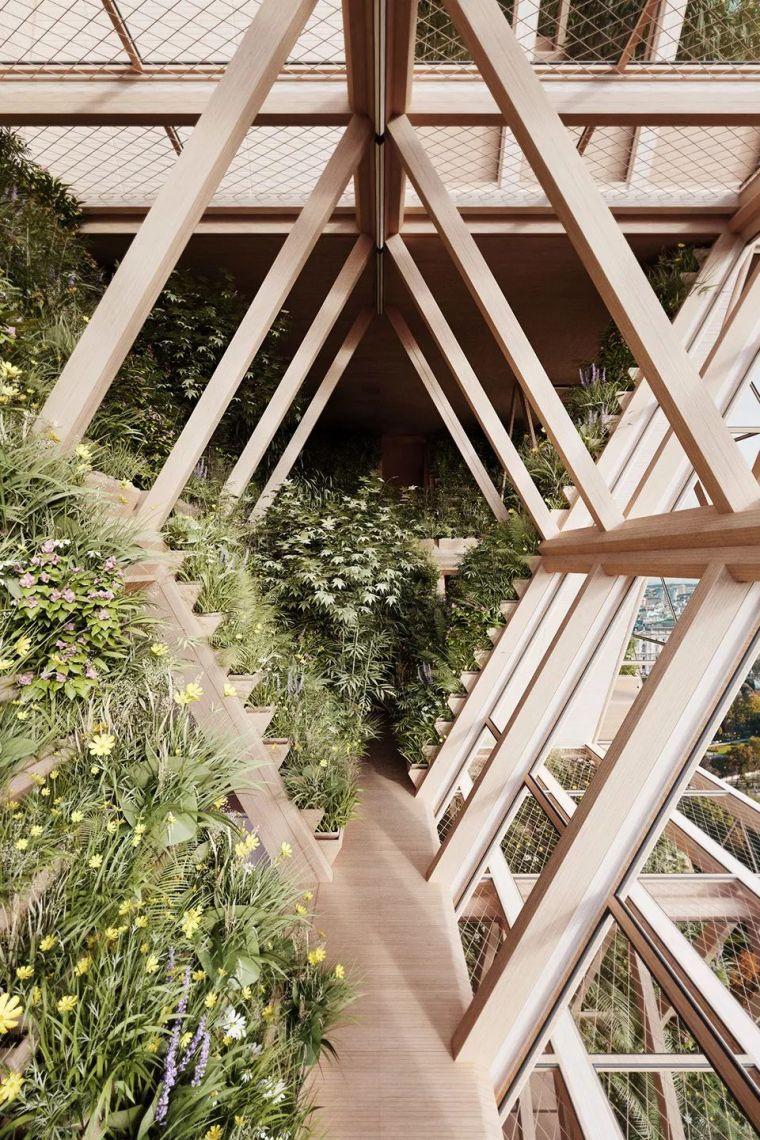 拥有独立生态系统的大楼-城市中的垂直农场_23