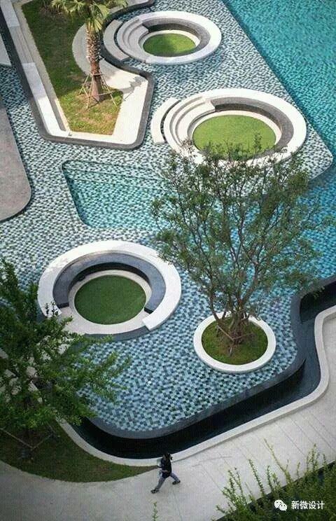 庭院景观,现在流行这样设计_2