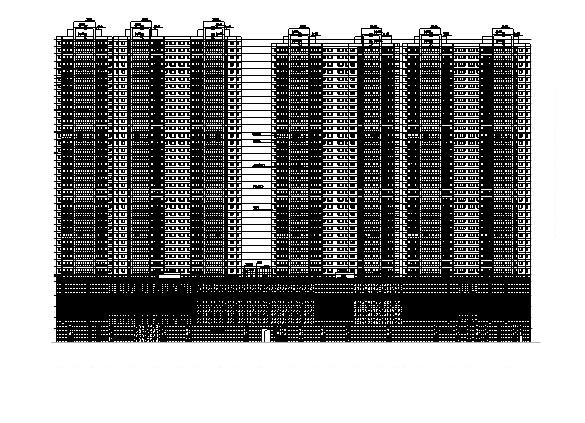 [云南]200多米超高层五星级酒店及办公建筑文本+CAD全套图纸