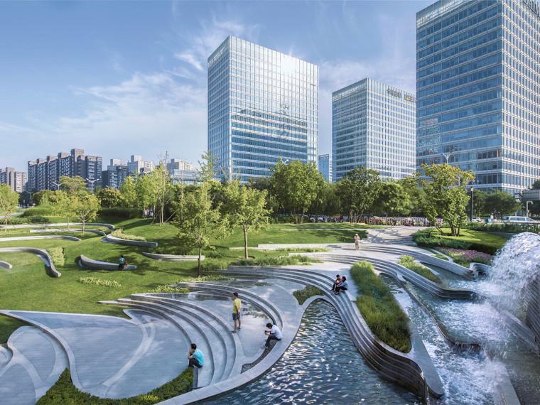 北京望京SOHO景观