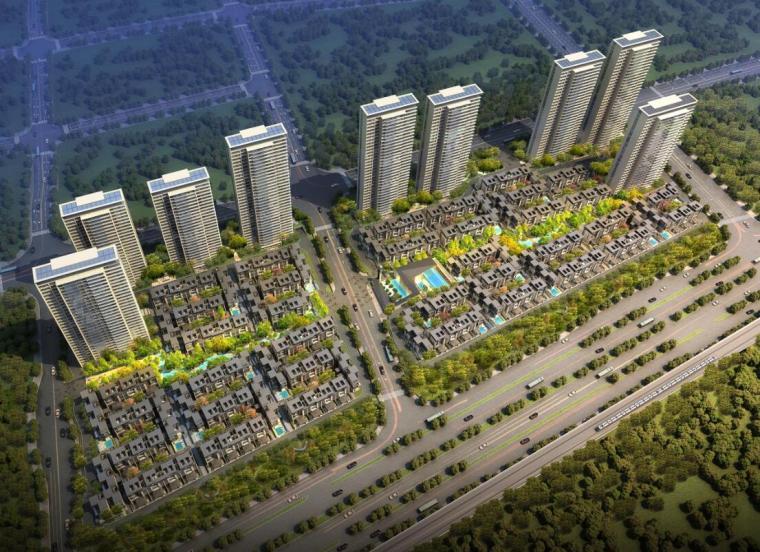 [安徽]新中式风格居住区建筑汇报文本(PDF+198页)