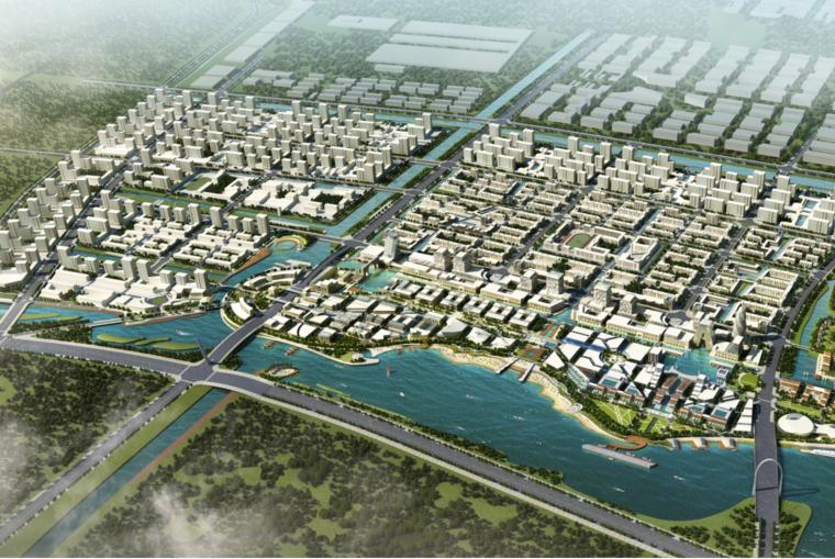 [浙江]临海市港区产业区一期整体城市规划设计方案文本(山海相连,港城相依)