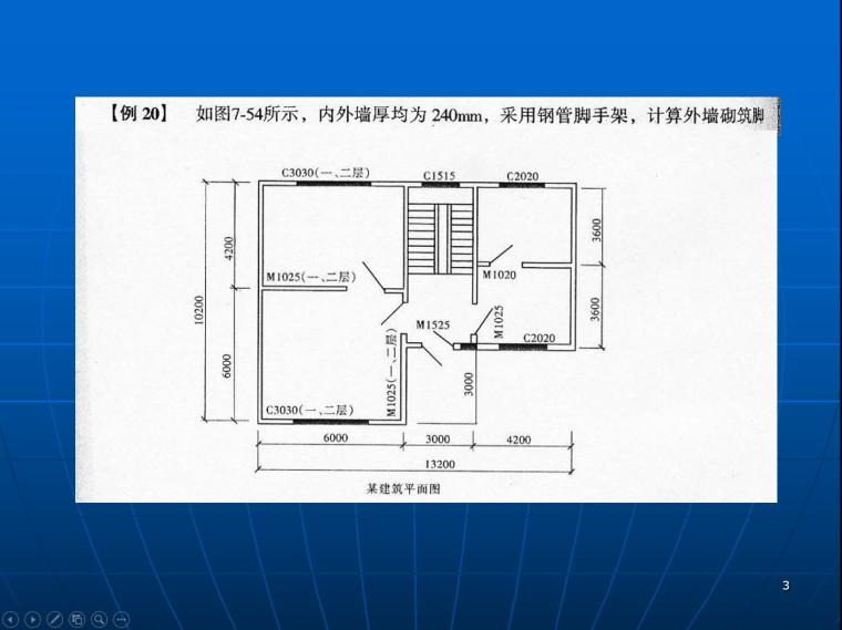 建筑工程脚手架工程量计算实例