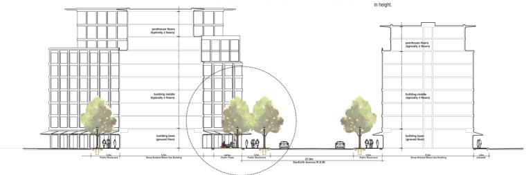多伦多丹佛斯大街设计方案(英文)(PDF+88页)-建筑立面