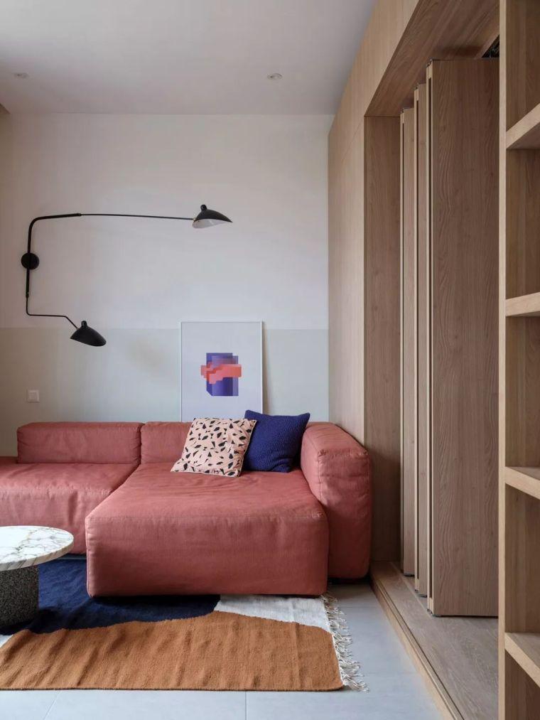小户型公寓这样装修,也能设计出别具一格的美~