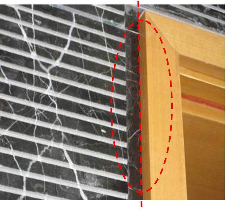 墙面凹凸面石材与其它材料交接处产生孔隙的质量通病解决办法_4