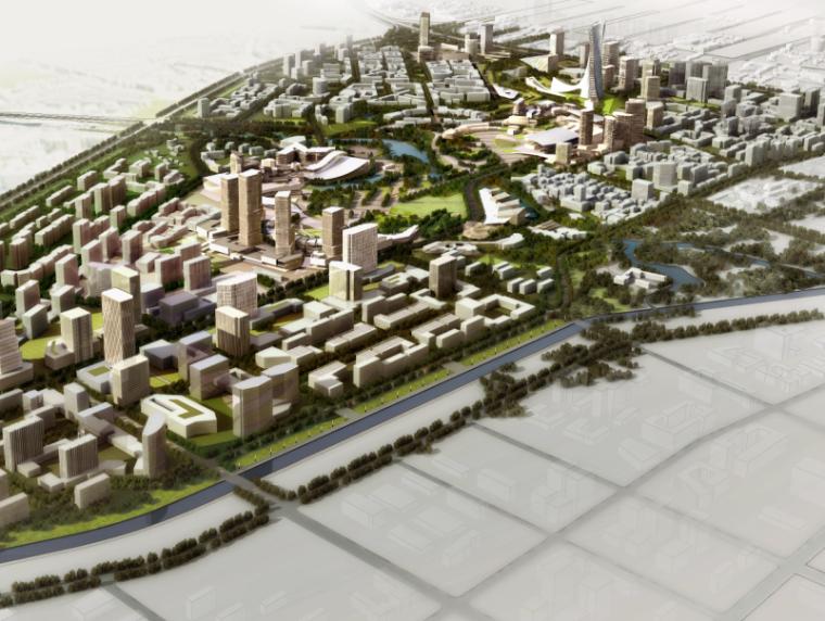 [北京]东坝开发区商业景观规划设计(PDF+103页)