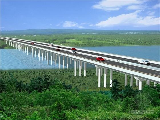 780米长预应力空心板桥施工图(先简支后连续 肋板式桩基)