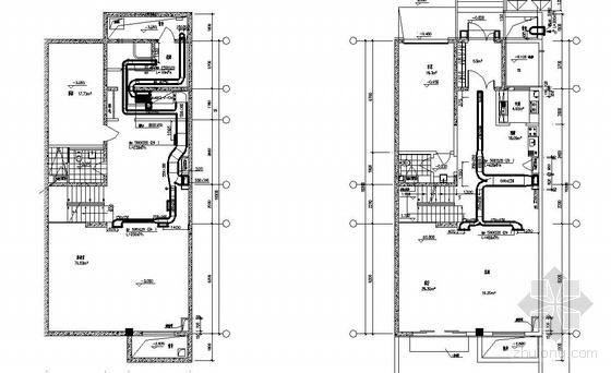 风管机户式中央空调图纸