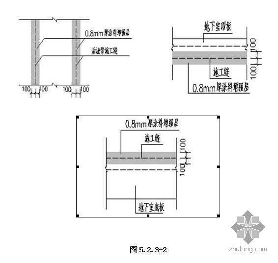 地下结构外墙水泥基渗透结晶型防水涂料工法(2008年)