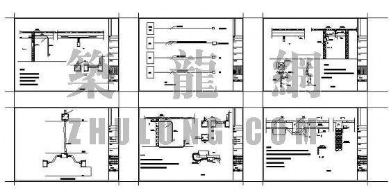PVC管道施工图
