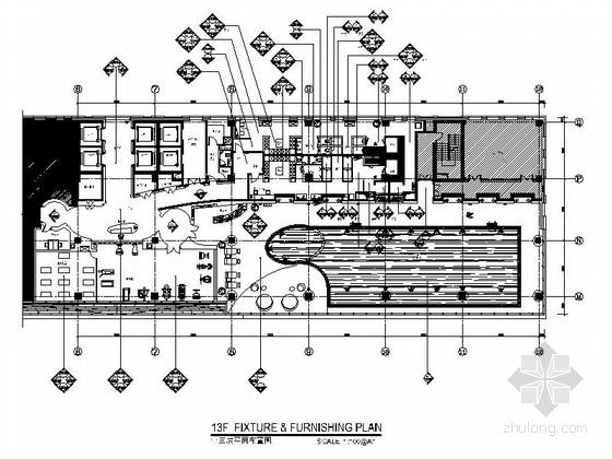 [广东]高档豪华现代大酒店室内装修施工图(211张 含高清效果图)