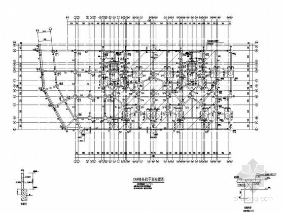 [重庆]地上七层部分框支剪力墙结构住宅楼结构施工图