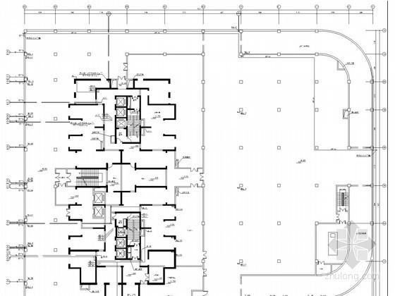 [新疆]超高层住宅楼给排水施工图(毕业设计)