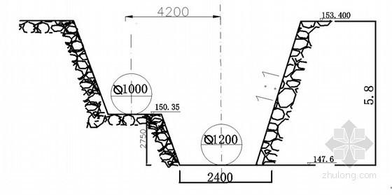 [河南]水厂扩建工程基坑支护施工方案(含计算书)