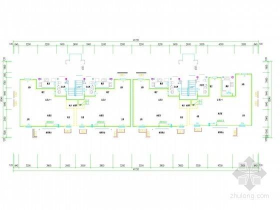 [山东]多层居民楼采暖通风系统设计施工图