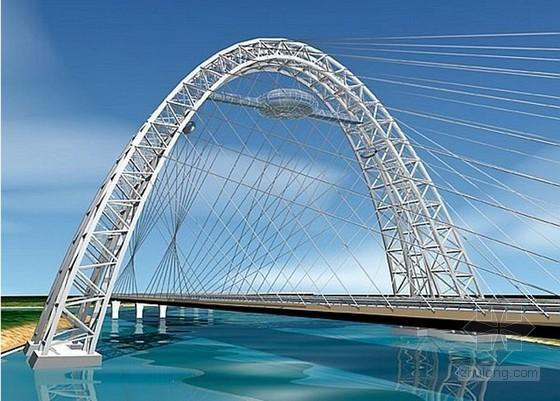 2014年钢结构景观桥新建工程概算书