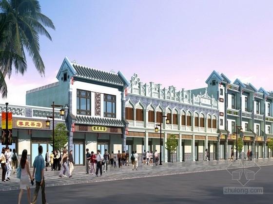[海南]南洋浓郁风情小镇景观设计方案