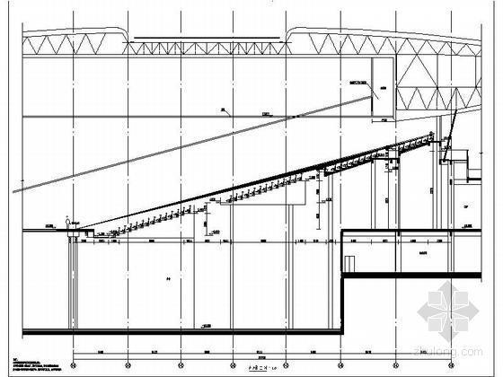圆形高层文化演艺中心建筑设计局部详图