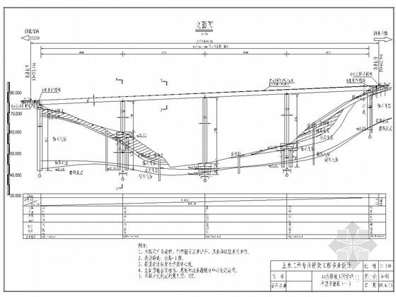 主跨40m连续梁桥毕业设计套图(全套资料)