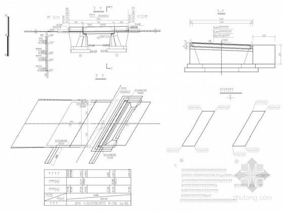 [安徽]1X8米钢筋混凝土现浇板桥施工图21张