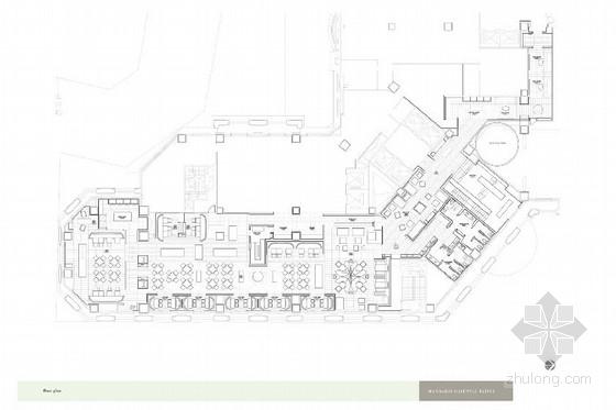 国际五星级奢华酒店全日餐厅室内概念设计方案