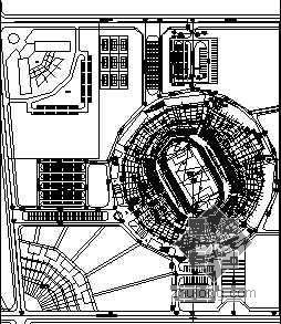 某体育场施工图