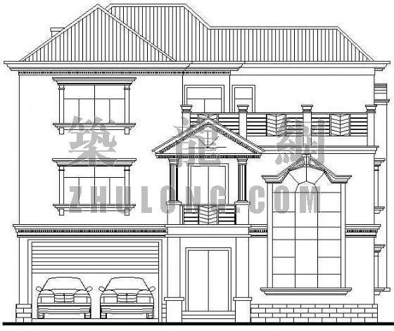 某三层欧式别墅设计方案