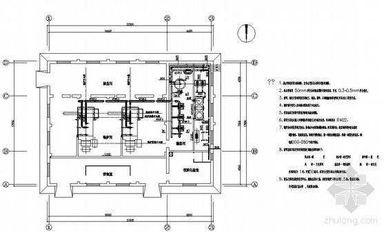 锅炉房工艺设备管道安装图纸
