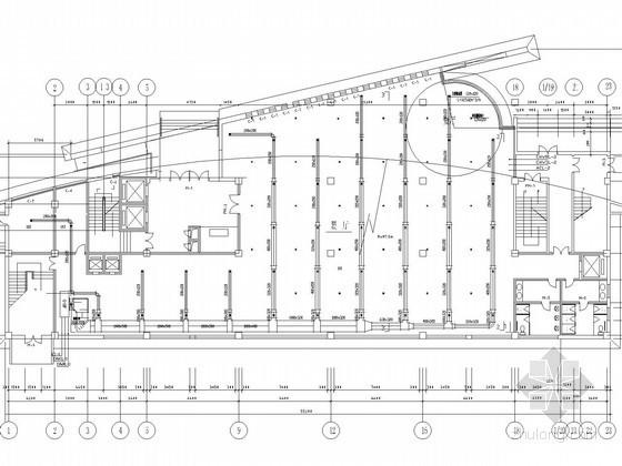 多层商业综合楼建筑全年性空调系统设计施工图