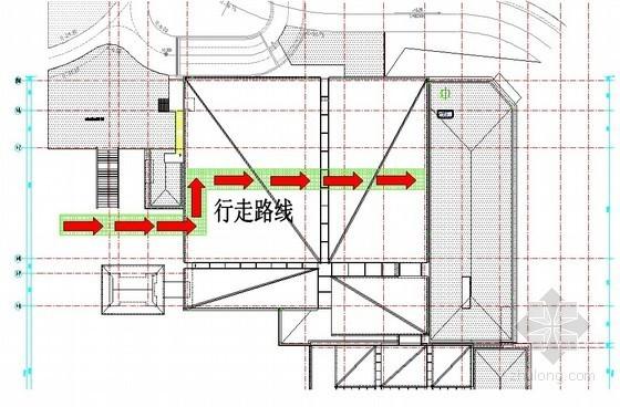 [江苏]框架结构会议中心钢构吊装车库顶板加固施工方案