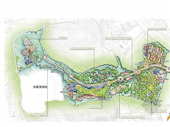 [广州]植物园生态园区景观规划设计