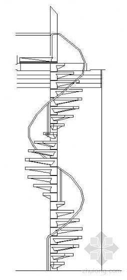 室内CAD楼梯图块