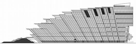 [温州]某大剧院建筑设计方案图(带效果图)