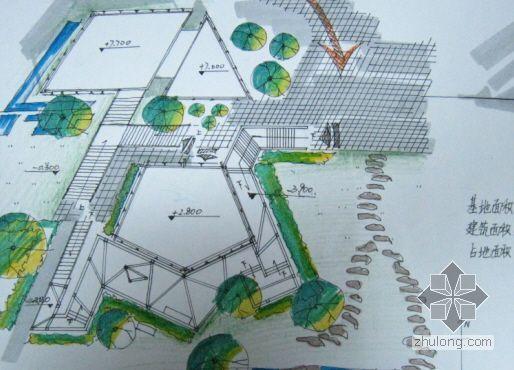 艺术沙龙设计-建筑设计快题