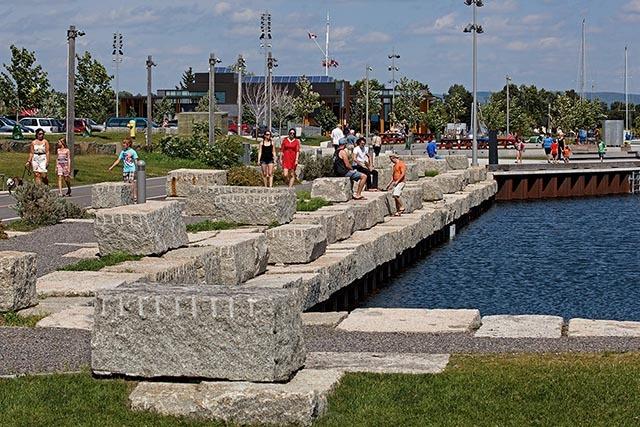 加拿大亚瑟王子码头公园景观设计_5