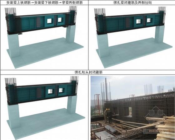 大截面劲性混凝土梁分层浇筑施工工法(附图丰富)