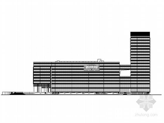 [深圳]知名企业研究大厦建筑设计施工图(知名事务所 含效果图)