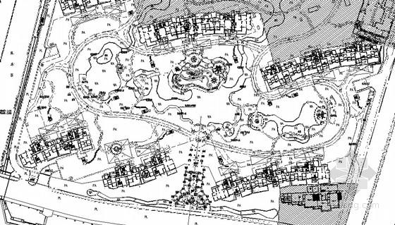 [江苏]居住区园林景观工程施工图