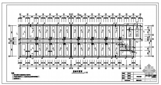 某煤炭分公司单身楼结构图
