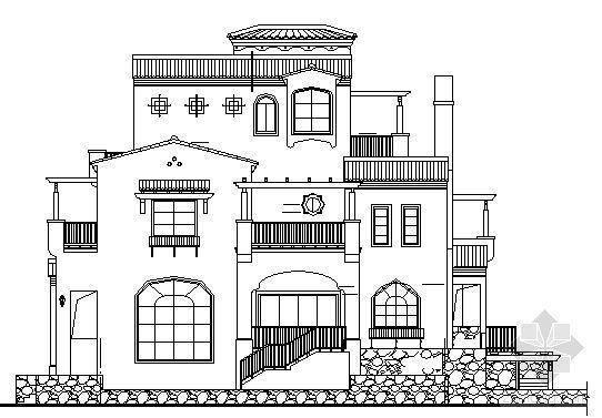 [河源市]三层别墅建筑施工图(两套)