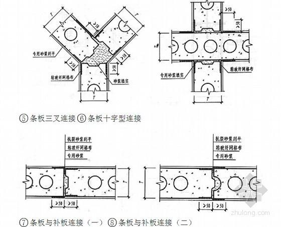 [江苏]文化中心工程混凝土条板施工方案(附图)