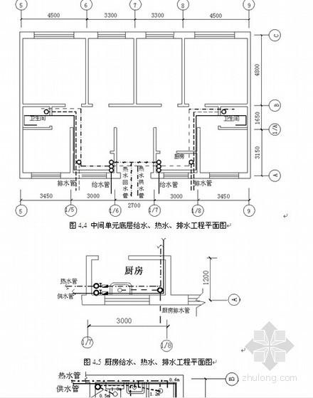 造价编制实例:某给排水安装工程施工图预算编制